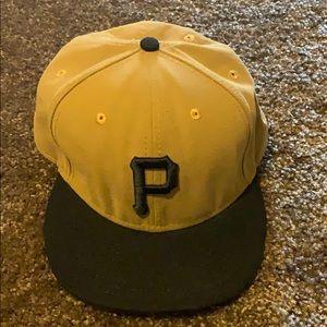 New Era Size 7 5/8 Pittsburgh Pirates Cap